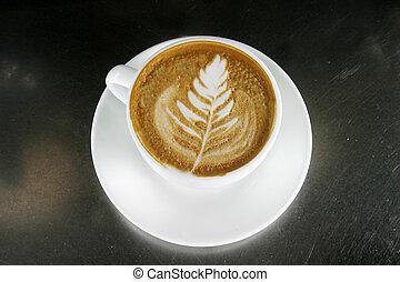 cappuccino, latte, kunst