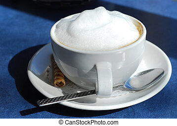 Cappuccino - Cup of cappuccino