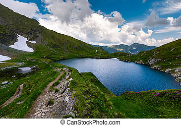 Capra glacier of Fagaras mountains of Romania. gorgeous...