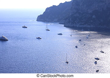 Capri island in summer.