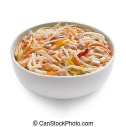 capricciosa, salat