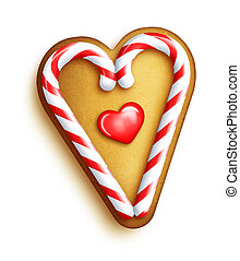 capriccioso, biscotto pan zenzero, cuore