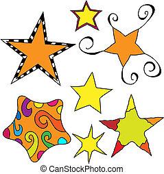 capricieux, étoile, collection