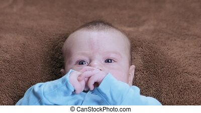 Capricious baby boy