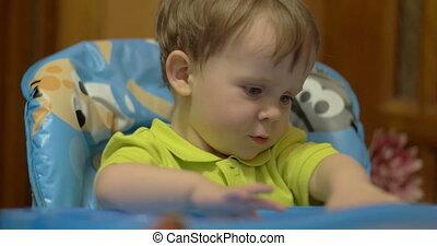 Capricious Little Boy