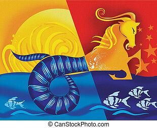 Capricorn; astrological sign