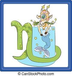 Capricorn - the tenth sign of the zodiac horoscope.