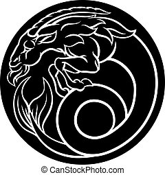 Capricorn Horoscope Zodiac Astrology Sign - Capricorn Sea...