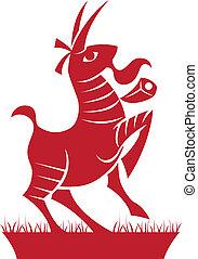 Capricorn Zodiac/Horoscope Symbol