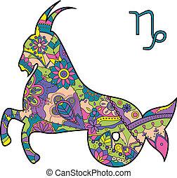 capricorno, zodiaco, segno
