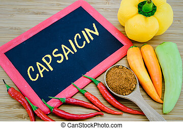 Images photographiques de Capsaicinoids. 33 photographies