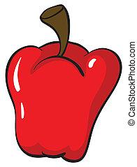 capsicum, rosso