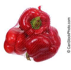 capsicum;, vermelho