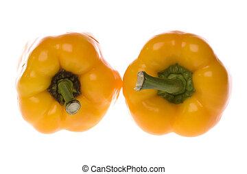 capsicums giallo