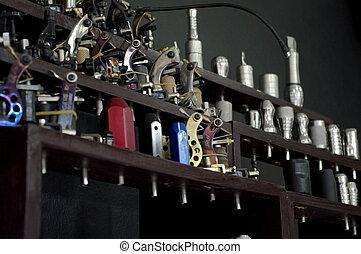 capstrzyk, equipments, głowa i, szpilka