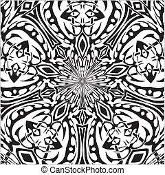capstrzyk, plemienny, styl