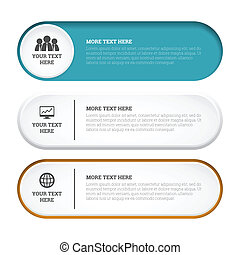 Capsule Copyspace Design Elements - Vector illustration of...