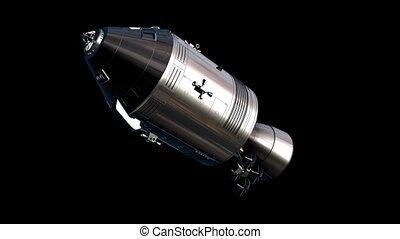 capsule, espace