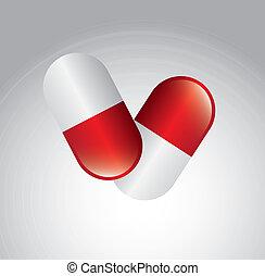 capsule, illustratie
