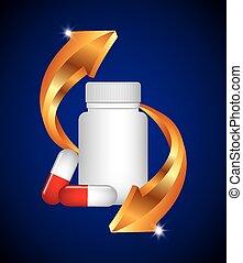 capsule, vitamine