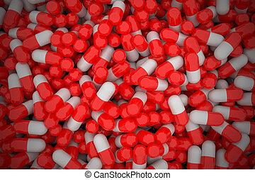 capsules., 山
