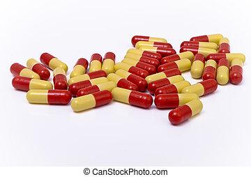 capsules, kleurrijke