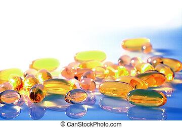 capsules, pillen