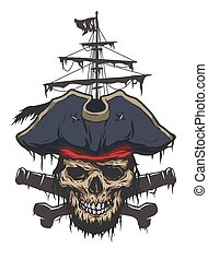 Captain and pirate attributes.
