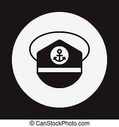 captain hat icon