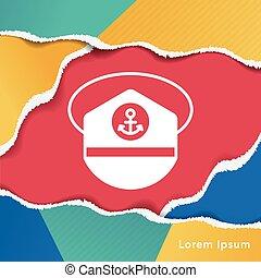 captain hat icon