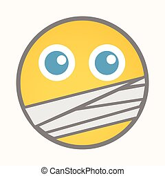 Captive - Cartoon Smiley Vector