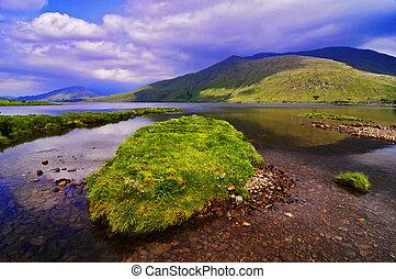 captura, de, un, impresionante, natural, paisaje de la...