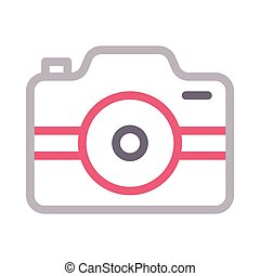 capture  color line icon
