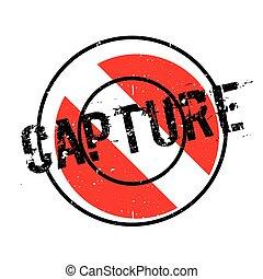 Capture rubber stamp