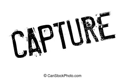 Capture rubber stamp