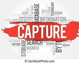 Capture word cloud