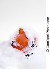 Captured pumpkin - Composition of a pumpkin captured in a...