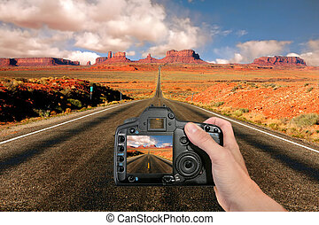 Capturing the Landscape at Monument Valley