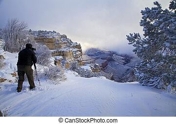 Capturing Winter at Grand Canyon