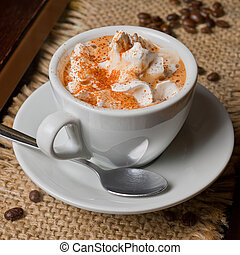 capuccino, コーヒー