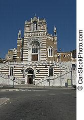 capuchin, rijeka, croácia, igreja, nosso, senhora, lourdes
