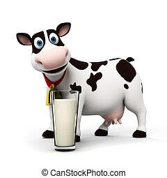 carácter, vaca