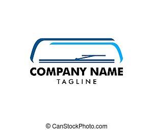 car, ícone, desenho, logotipo, wiper, pára-brisa