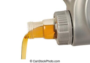 car, óleo