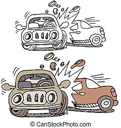Car Accident - An image of a car accident.