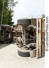 Car accident with truck