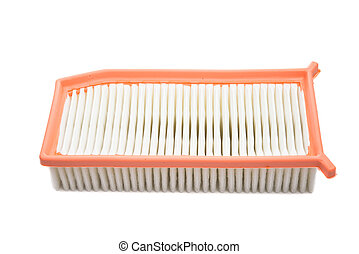 car air filter isolated