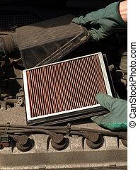 Car air filter