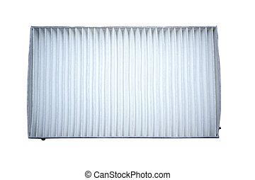 car air filter on a