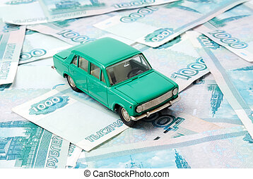 Car and money
